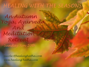 Autumn Yoga Retreat 2016 Flyer