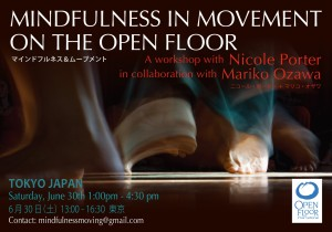 Open Floor June Flyer 1